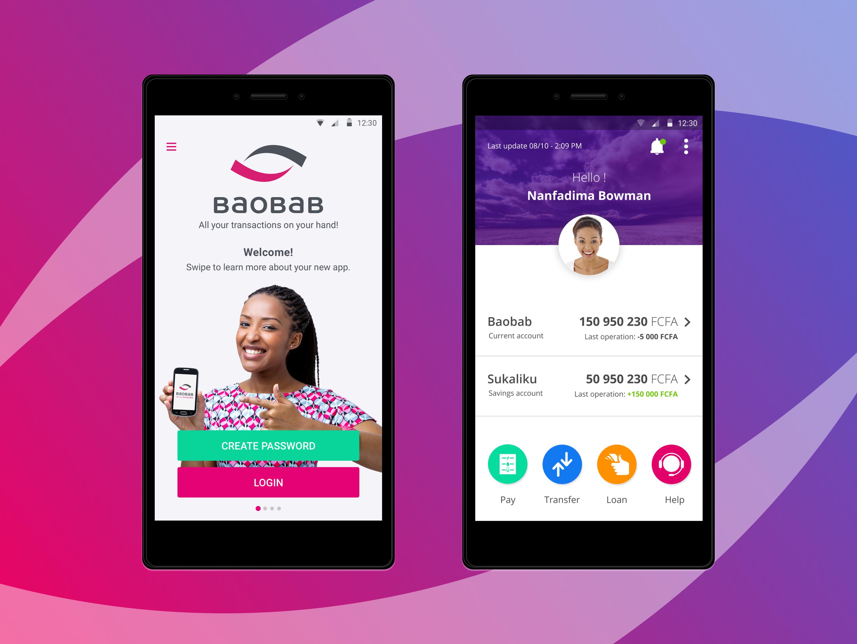 Baobab Mobile Banking App